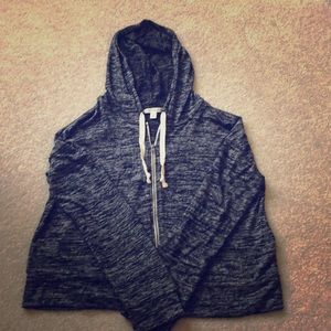 American Eagle Zip Up With Hood